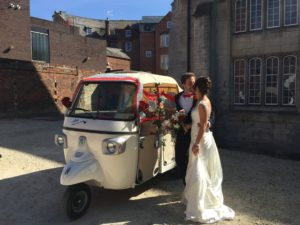 TukTuk Wedding Car Hire Blackfriars Gloucester