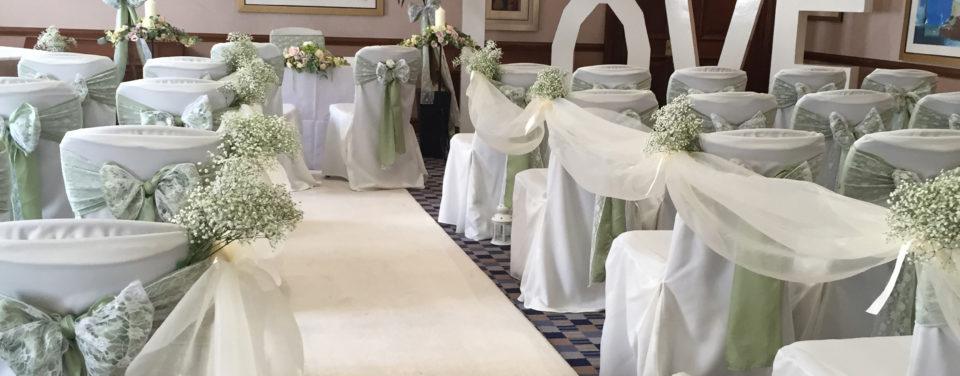 Ceremony/aisle decoration