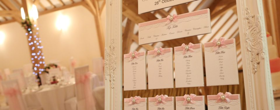 Table Plans, Post boxes, Wish Trees