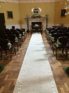 Aisle Runner Bath Assembly Rooms