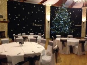 Chair Covers Castle Combe Golf Club