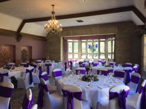 Chair Covers Castle Combe Manor House