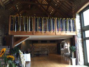 Decorated Balcony Priston Mill