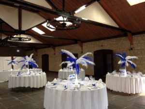 Ostrich Feather Centrepieces The Barn Berkeley