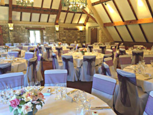 The Manor House, Castle Combe, drk aubergine sash