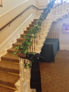 ivy & fairy lights staircase Eastwood Park