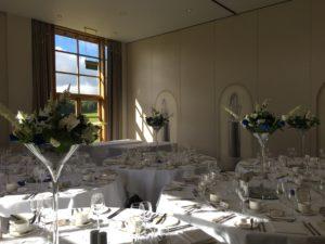 Martini centrepieces Bowood
