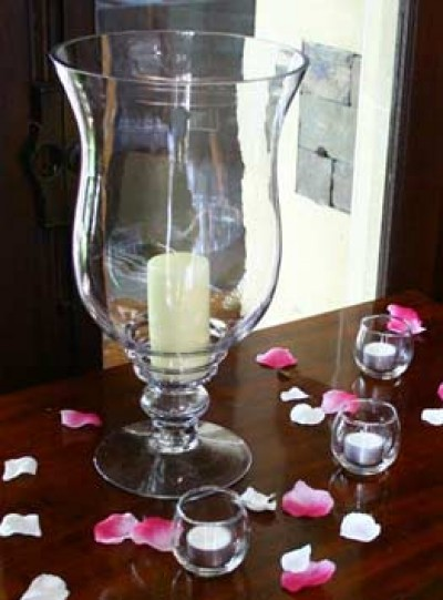 Hurricane Candle Holders Hire Bristol Everything Covered