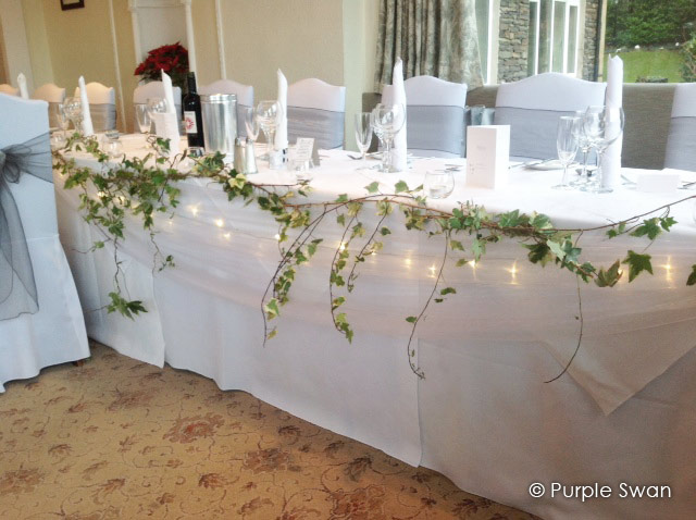 Table Runners Amp Swagging Everything Covered