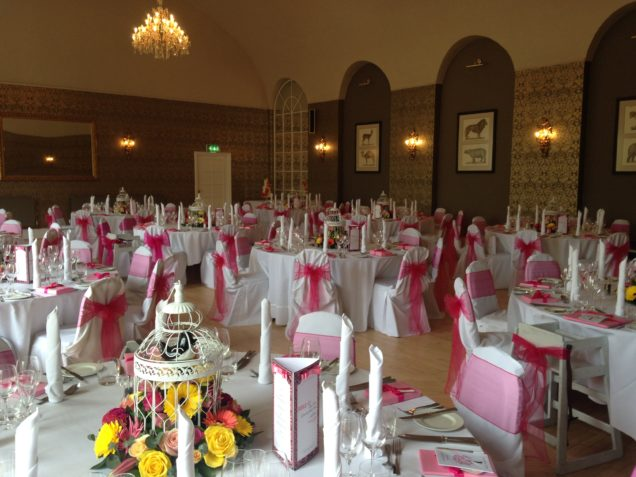Wedding venue styling chair covers bristol bath gloucestershire wedding chair cover hire junglespirit Images